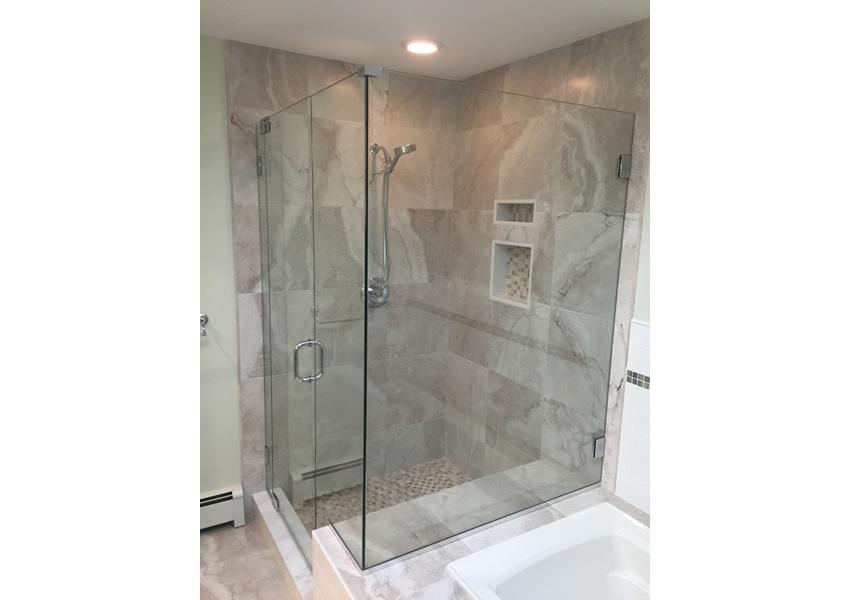 Glass Shower Enclosures | Connecticut Glass Shower Door Installation